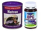 Robert Franz Natron (250 g) und Ayursana OPC (120 Kapseln)