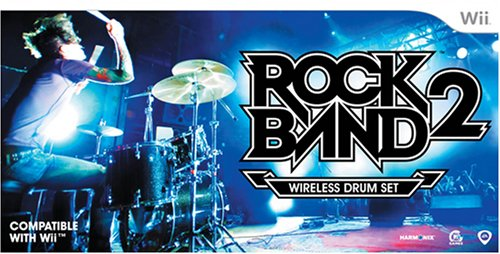 Rock Band 2 Standalone Drums - Nintendo Wii by MTV (Rockband Wii Drums)