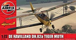 Airfix - De Havilland Tiger Moth, juguete de aeromodelismo (Hornby A01025)