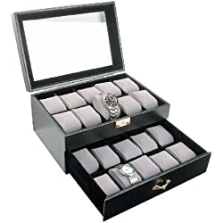 Deluxe Watch Case for 20 Watches - BD230