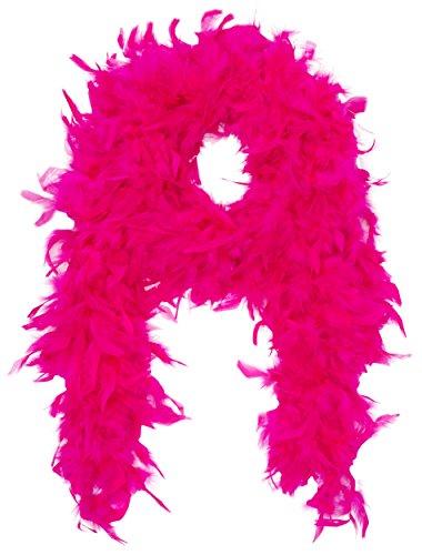 Smiffys, Damen Deluxe Federboa, Länge: 180 cm, 80 g, Fuchsia, 38308
