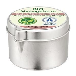 Bio Massagekerze Metalldose mit Ausgießer 50 ml