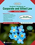 Padhuka's Students' Handbook on Corporate and Allied Law: CA Final Old Syllabus