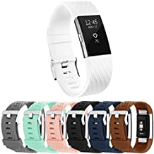 Vancle Bracelet pour Fitbit Charge 2, Édition Spéciale Bracelets de Remplacement Réglables pour Fitbit Charge 2(Sans Traqueur)