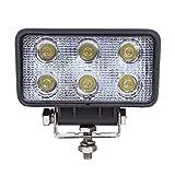 18 W LED Faros led Lámpara trabajo 6000K del coche trabajo Foco coche Moto Led luz Conducción para coche Resistente a Vibraciones