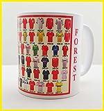 Nottingham Forest mug Nottingham Forest shirt History Mug Ceramic Mug football Mug SHIRTS THROUGH THE AGES
