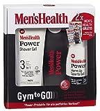 Men's Health Geschenkset Power Gym to go 'Warm up', 1 x Power Shower Gel 3in1 & 1 x Power Warm up Sports Gel & 1 x Power Minibad, 1er  (1 x1 Set)