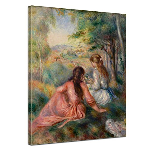 Bilderdepot24 tela Immagine di Pierre-Auguste Renoir - completamente incorniciato, direttamente dal produttore - Antichi Maestri