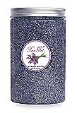 TooGet Fragrante Germogli Secchi di Lavanda, 100% Altopiano Prime Crescono Fiori di Lavanda, Ultra Grado di Lavanda Blu Premio Con La Bottiglia di Plastica PET(115g)