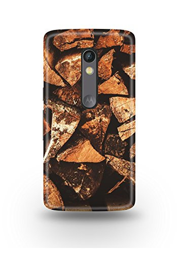 Moto X Play Cover,Moto X Play Case,Moto X Play Back Cover,Wooden Logs Moto X Play Mobile Cover By The Shopmetro-12166