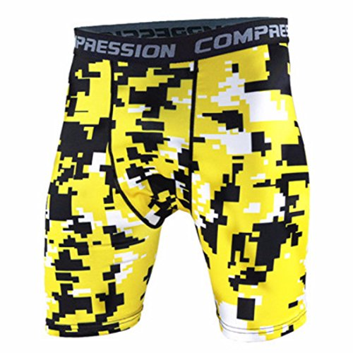 Men's Bermuda Camouflage Compression Board Shorts 8