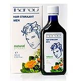 Neue Produkt-– Männer Haar Stimulant für Wachstum und Kraft mit ätherischen Ölen–Tabak Absolute, Rosmarin, Lavendel, Salbei, Vit. PP, Menthol 125ml