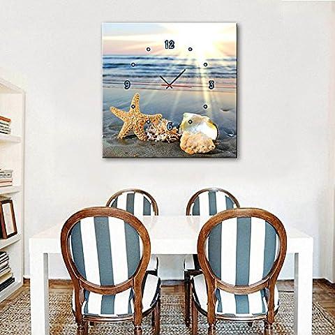Xiuxiandianju Coquillages cloche décorative sur la salle à manger de la plage peinture cadre peinture peintures chambre salon enfants ,