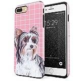 Glitbit iPhone 7 Plus iPhone 8 Plus Case Cute Yorkshire Terrier Dog...