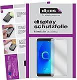 dipos I 2X Schutzfolie klar passend für Alcatel 3V Folie Bildschirmschutzfolie