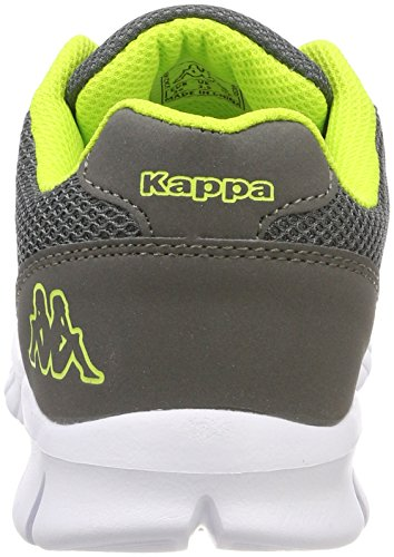 Kappa Stay, Sneaker Unisex – Adulto Grigio (1633 grey/lime)