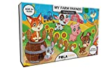 #6: Pola Puzzles My Farm Friends Tiling Puzzles 60 Pieces For Kids Age 5 years and above Multi Color Size 36CM X 21CM Jigsaw Puzzles for Kids