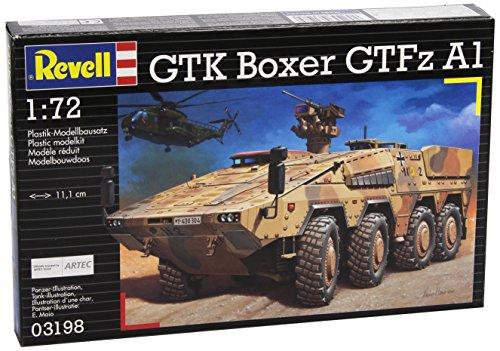Revell-Modellbausatz-Panzer-172-GTK-BOXER-GTFzA1-im-Mastab-172-Level-4-originalgetreue-Nachbildung-mit-vielen-Details-03198