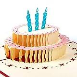 Papier Spirit Pop Up Grußkarte zum Geburtstag Geburtstagskarten Glückwunschkarten Grußkarten Geburtstag