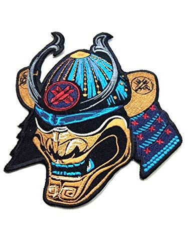 Kostüm Gewinnen Wettbewerb - Ronin BJJ Kaiser Samurai Patch-PREMIUM QUALITÄT Jiu Jitsu Gi Kimono Patch-Intense Schöne Färben-15,2x 12,7cm bestickt Patch-Ideal für Jacken und T-Shirts