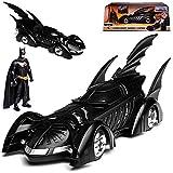 alles-meine GmbH Batmobile und Batman Batman Forver mit Figur 1/24 Jada Modell Auto