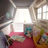 Abenteuerbett / Spielbett HANG OUT, whitewash, Massivholz lasiert, 90x200cm - 4