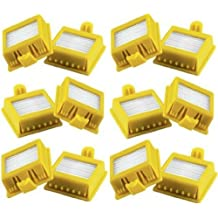 Pack de 12 Filtros HEPA iRobot Roomba Series 700 760 770 772 774 775 776 780 782 785 786 790 - Garantía 24 Meses Bosaca Oficial