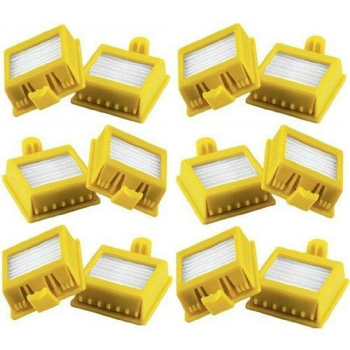 Bosaca Pack de 12 Filtros HEPA iRobot Roomba Series 700 760 770 772 774 775 776 780 782 785 786...
