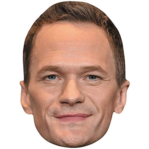 il Patrick Harris (Smile) Maske aus Karton ()