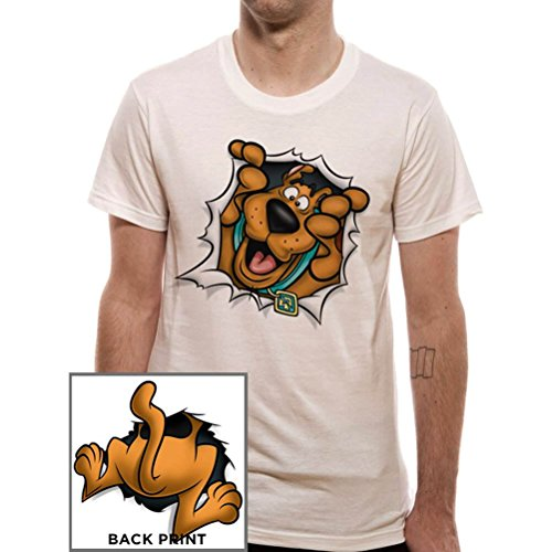 Scooby Doo Rip Through Official Men's T-shirt