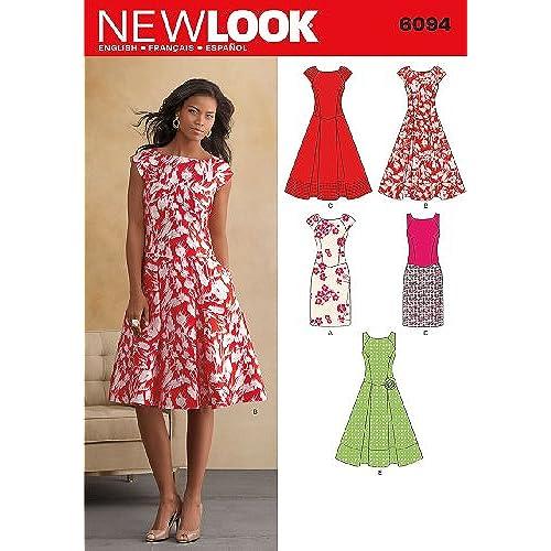 Women\'s Dress Sewing Pattern: Amazon.co.uk