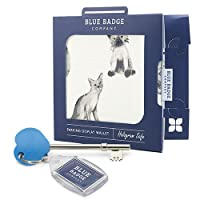 Blue Badge Company Wallet Holder for New Permit with Radar Key for Disabled Toilet