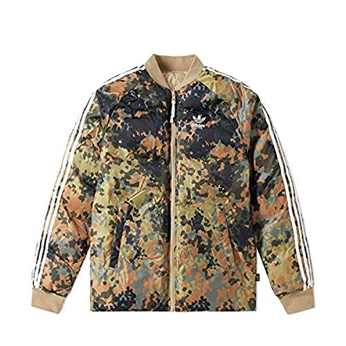 adidas Herren Jacken / Winterjacke SST Winter camouflage XL