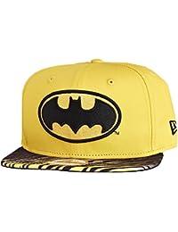 New Era x DC Comics - Casquette Snapback Homme Batman 9Fifty Animal Fade - Yellow / Black