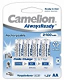 Camelion NH-AA2100ARBP4 Rechargeable Bat...