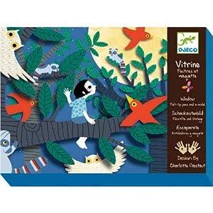 Djeco Caja de mosaicos Ganas de Fiesta (39420), Multicolor (1)