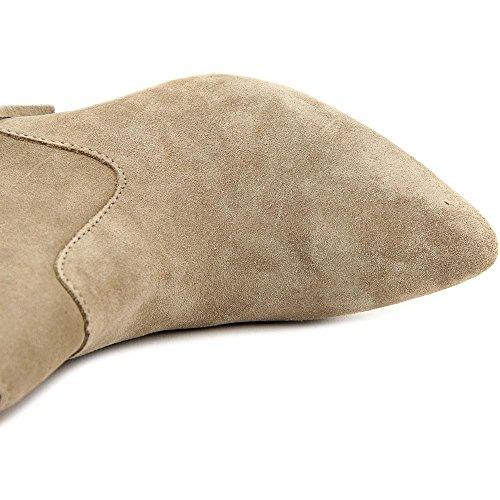 Taupe Inc stiefeletten Concepts Mode Damen Wildleder Pallavi International Warm fOfxq4T