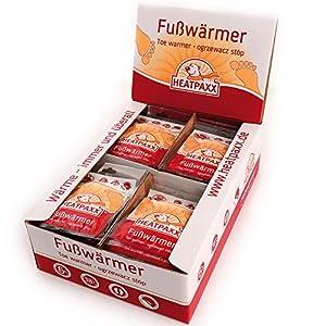 HeatPaxx Fußwärmer-/Hauchdünne Zehenwärmer (für unterwegs – endlich wieder warme Füße – 5 x 2, 15 x 2 oder 40 x 2 Wärmepads im praktischen Vorteilspack)