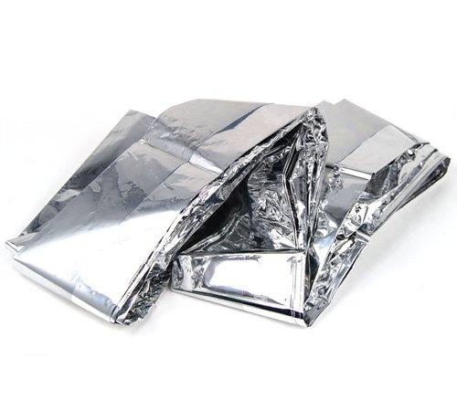 51DdAscJ4lL - outdoortips 10 Pack Emergency Survival First Aid Foil Space Set Hiking Campling blanket