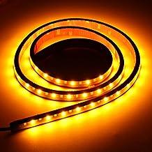 mfpower 1,2m LED señal de giro lateral luz de circulación diurna DRL tira barra para Dodge Ram Pickup Truck