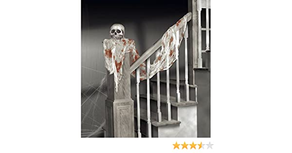 Hallo Halloween Decoraties : Dekotuch blutige gaze cm halloween dekoration horror deko