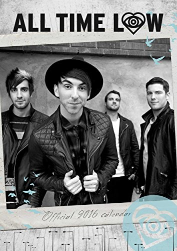 The Official All Time Low 2016 A3 Calendar