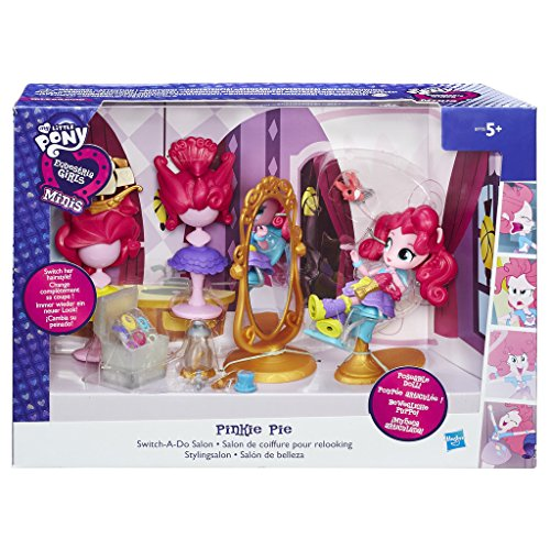 Preisvergleich Produktbild My Little Pony b7735es00 Equestria Girls Minis Pinkie Pie switch-a-do Salon Set