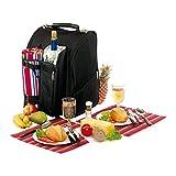 Picknick Rucksack für 2 Personen mit