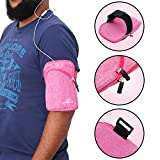 #9: Livzing waterproof multipurpose sports unisex arm band pouch earphone mobile holder storage strap for all outdoor activities.