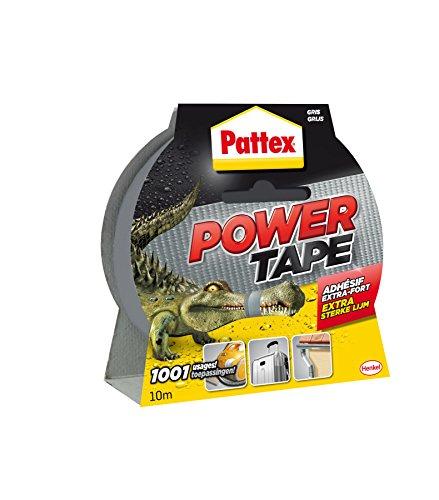 Preisvergleich Produktbild Pattex Gewebeband Power Tape, (B) 50 mm x (L) 10 m, grau