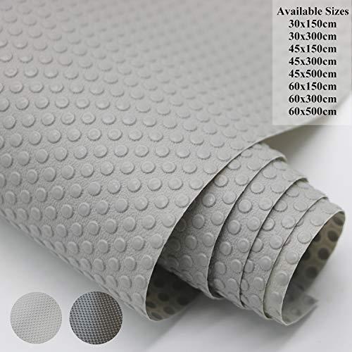Hersvin - 45x300cm Alfombra Antideslizante de EVA para Cajon, No Adhesivo, Impermeable Antibacteriano...