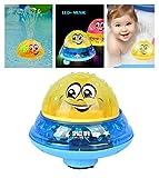 Badespielzeug Wasserspiel für Kinder Mit 2 Musik + Blinklicht - Baby Bade Bad Schwimmen Badewanne...