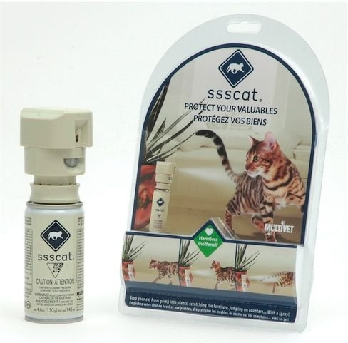 Multivet Ssscat - der Katzenschreck Sprühflasche mit Bewegungsmelder