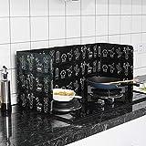 Prosperveil Protection d'écran anti-éclaboussures pour cuisinière, poêle à...